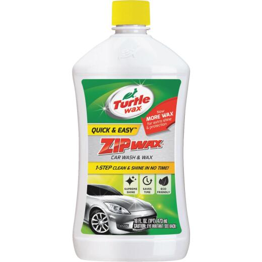 Turtle Wax Zip Wax 16 Oz. Liquid Car Wash & Wax