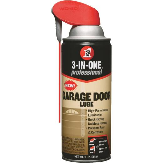 3-IN-ONE 11 Oz. Aerosol with Straw Garage Door Multi-Purpose Lubricant