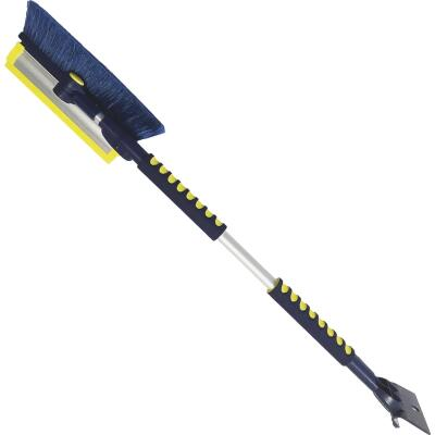 Michelin Avalanche 63 In. Steel Multi-Functional Telescopic Snowbrush and Ice Scraper