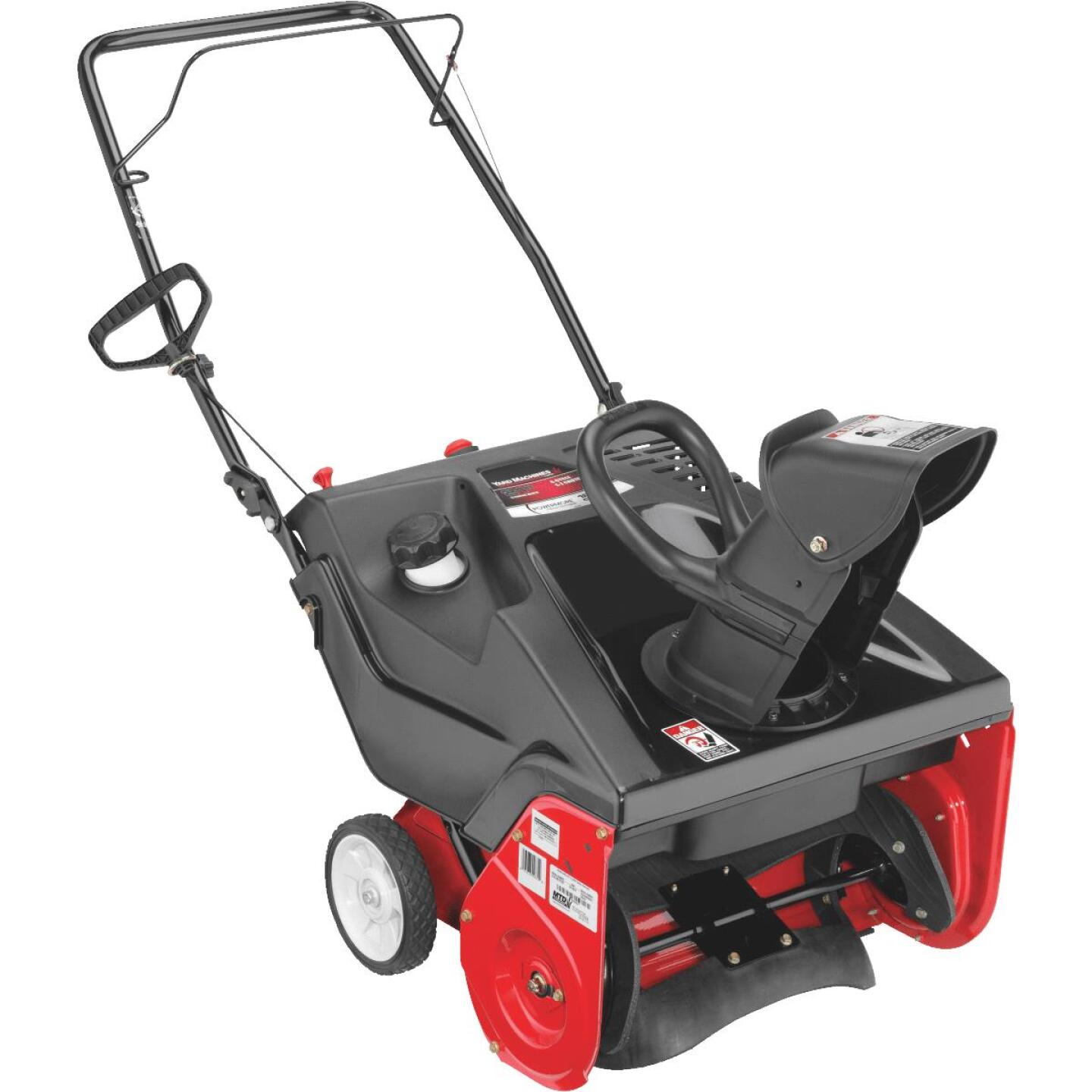 Troy-Bilt 21 In. 123cc Single-Stage Gas Snow Blower Image 1