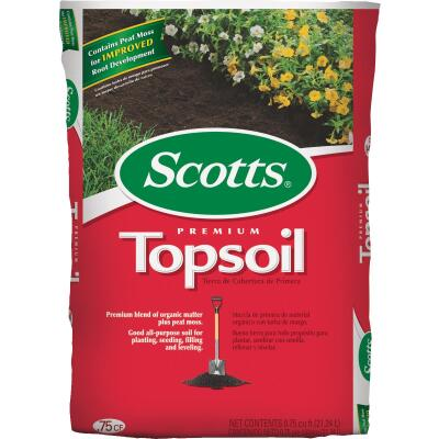 Scotts 0.75 Cu. Ft. 14 Lb. All Purpose Premium Top Soil