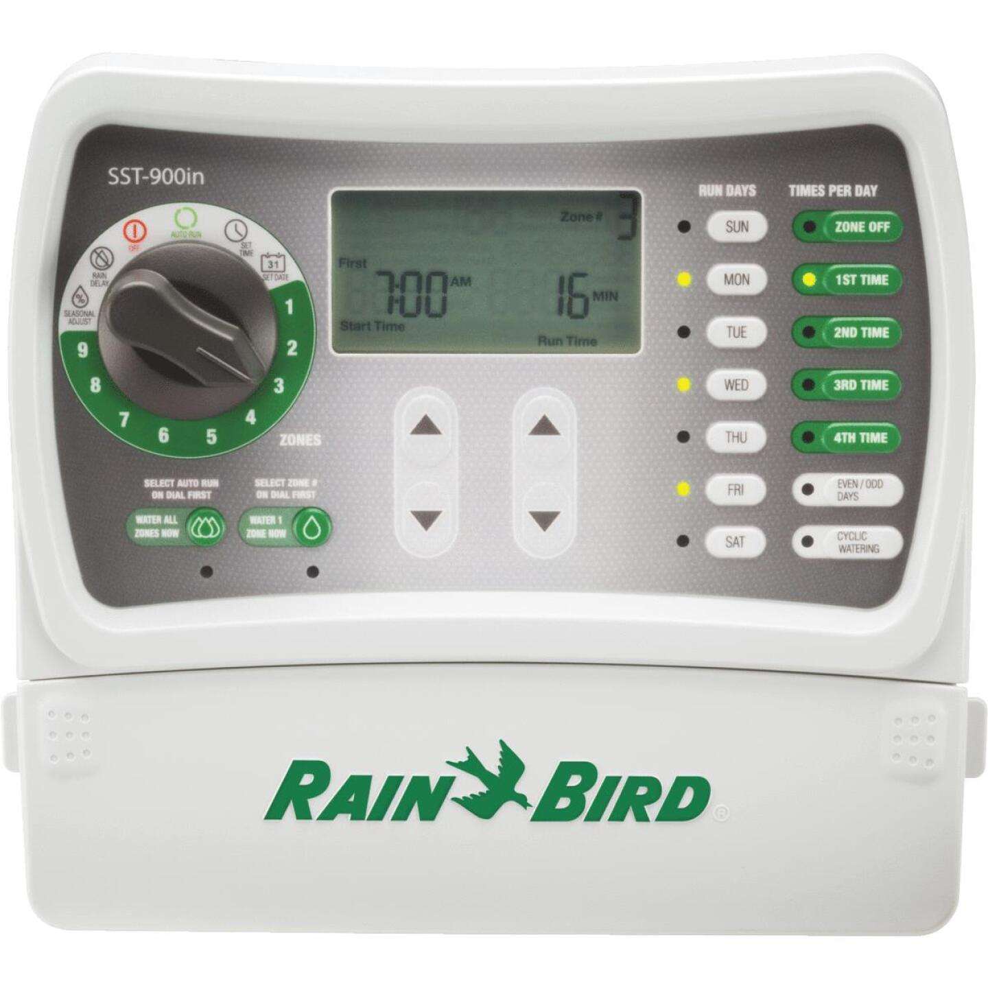 Rain Bird Simple Set 9-Station Indoor Plug-In Irrigation Sprinkler Timer Image 1