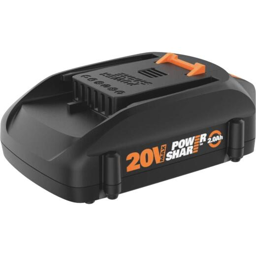 Worx 20V PowerShare 2.0 Ah Tool Replacement Battery
