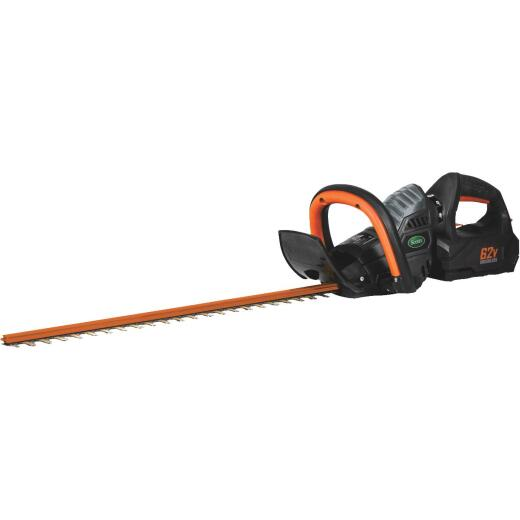 Scotts 24 In. 62V Lithium Ion Cordless Hedge Trimmer